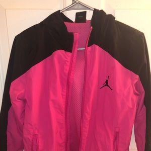 Girls pink Jordan jacket